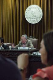 Imagem: A reunião foi presidida pelo Reitor Henry de Holanda Campos
